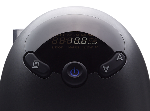 Clear backlit LCD display and intuitive user interface for easy operation