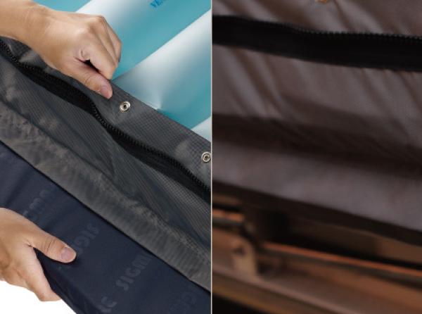 Zipper Foam Pocket