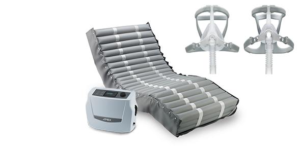 Pro-care Optima Air Mattress & Wizard 310/320 CPAP Mask