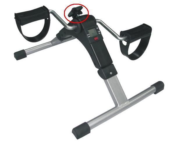 Cuenta con un sistema de resistencia magnética que permite graduar el esfuerzo.
