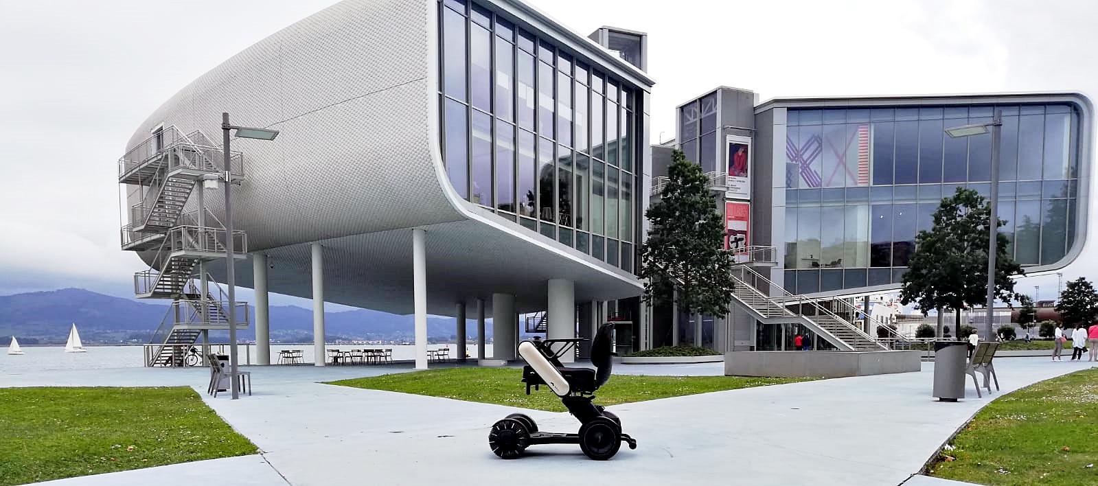 La Model C representa el futuro de las sillas de ruedas eléctricas