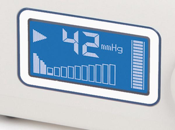 La duración del llenado depende de la anatomía del paciente y del tiempo que se haya seleccionado. Este proceso transporta el fluido de los tejidos con el fin de reducir el edema.