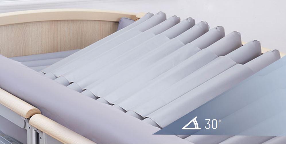 Sistema de lateralización ajustable hasta 30º