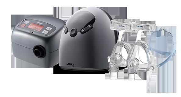 Sistema de CPAP de la serie XT y máscara de CPAP de la serie WiZARD